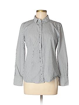 Mango Long Sleeve Button-Down Shirt Size 6