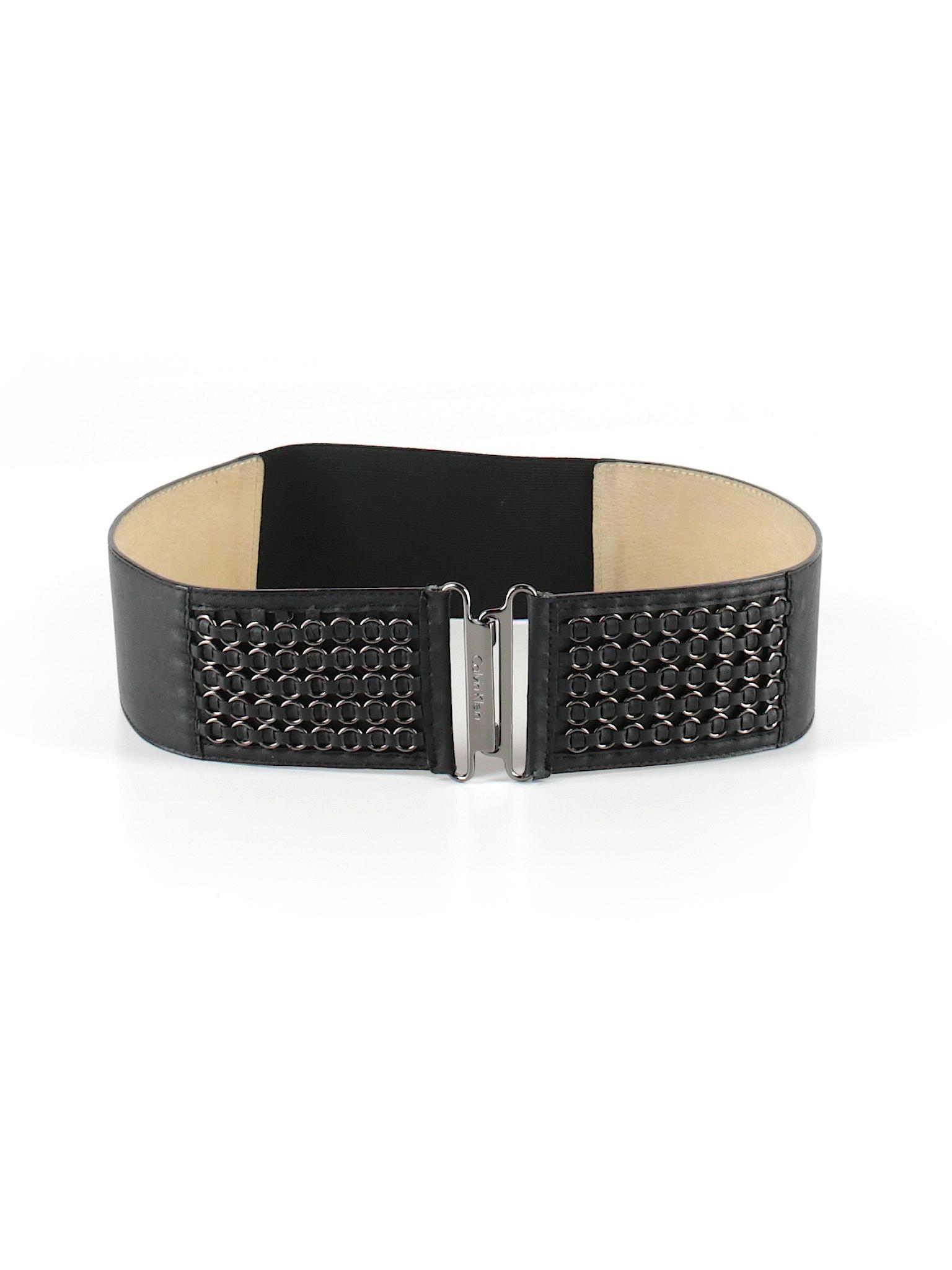 6f6bff46b73 Calvin Klein Solid Black Belt Size Sm - Med - 80% off
