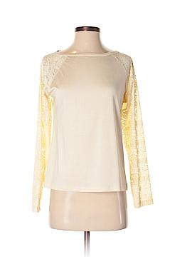 Lynn Ritchie Long Sleeve Silk Top Size S
