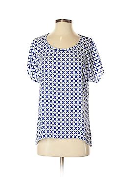 Pleione Short Sleeve Blouse Size XS