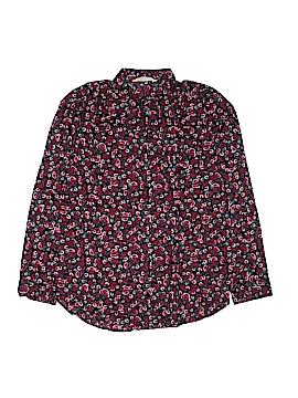 H&M Long Sleeve Button-Down Shirt Size 14