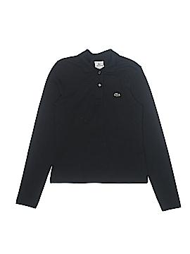 Lacoste Long Sleeve Polo Size 16