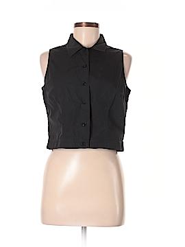 Emanuel by Emanuel Ungaro Sleeveless Button-Down Shirt Size 6