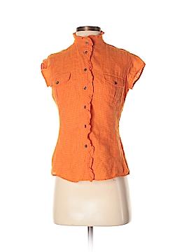 Weekend Max Mara Short Sleeve Button-Down Shirt Size S