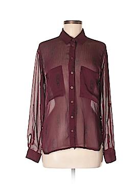Garage Long Sleeve Button-Down Shirt Size M