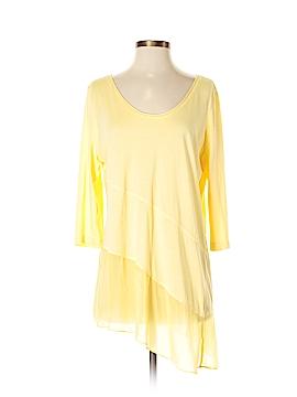 Soft Surroundings 3/4 Sleeve Top Size M (Petite)