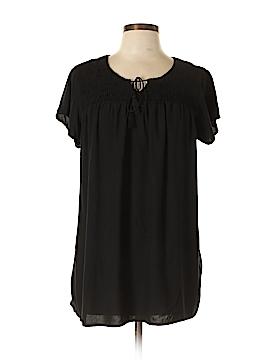 Faded Glory Short Sleeve Blouse Size 12 - 14