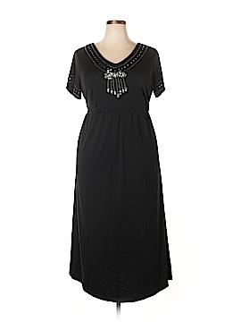 Silhoutte Casual Dress Size 1X (Plus)