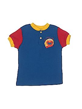 Sesame Street Short Sleeve Polo Size 5T