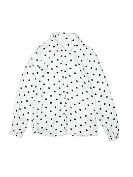 Zara Long Sleeve Button-Down Shirt Size 10