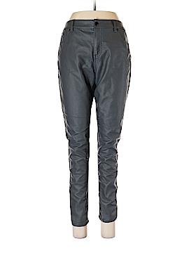 Bisou Bisou Faux Leather Pants Size 14