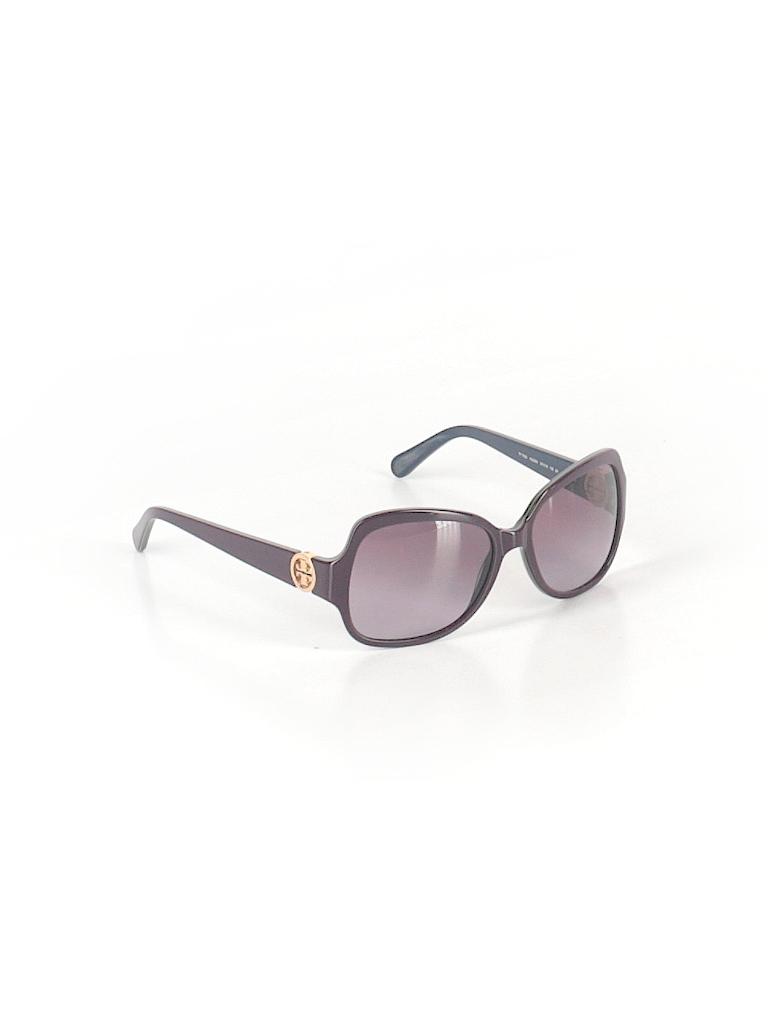 14e9573a2cda Tory Burch Solid Purple Sunglasses One Size - 72% off