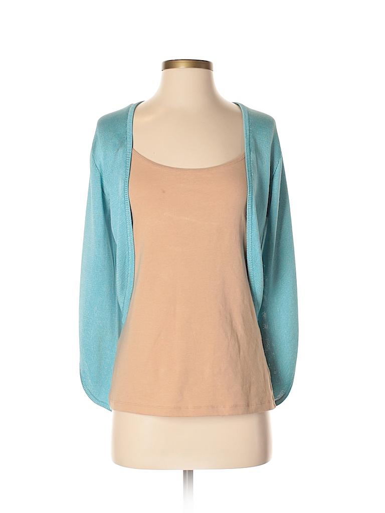 Ralph Lauren Black Label Women Silk Cardigan Size S