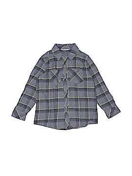Hawk Long Sleeve Button-Down Shirt Size 4