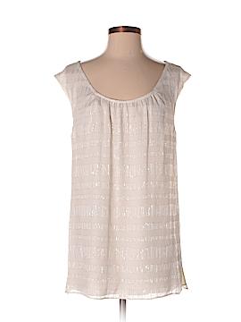 St. John Short Sleeve Silk Top Size S