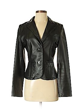 Sisley Leather Jacket Size 42 (IT)