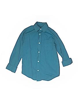Classic Club Long Sleeve Button-Down Shirt Size 6