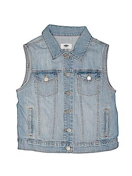Old Navy Denim Vest Size X-Large (Youth)