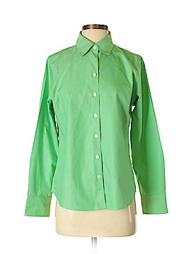 Eddie Bauer Long Sleeve Button-Down Shirt Size M (Petite)