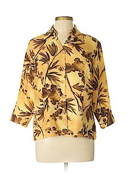 Selene Sport 3/4 Sleeve Blouse Size L