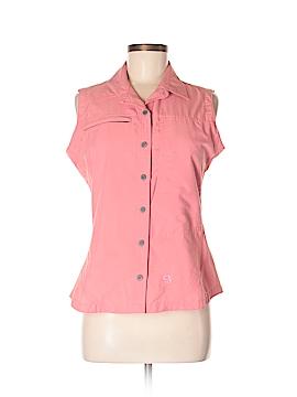 Mountain Hardwear Sleeveless Button-Down Shirt Size 8