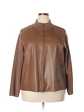 Pendleton Leather Jacket Size 2X (Plus)