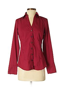 Express Design Studio Long Sleeve Button-Down Shirt Size S