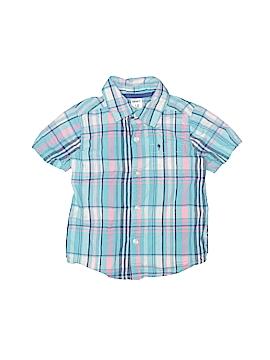 Carter's Short Sleeve Button-Down Shirt Size 18