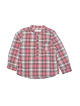 Zara Long Sleeve Button-Down Shirt Size 24 mo