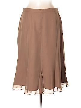 Terry Lewis Silk Skirt Size M