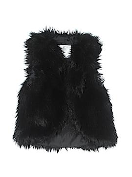 Justice Faux Fur Vest Size 6 - 7