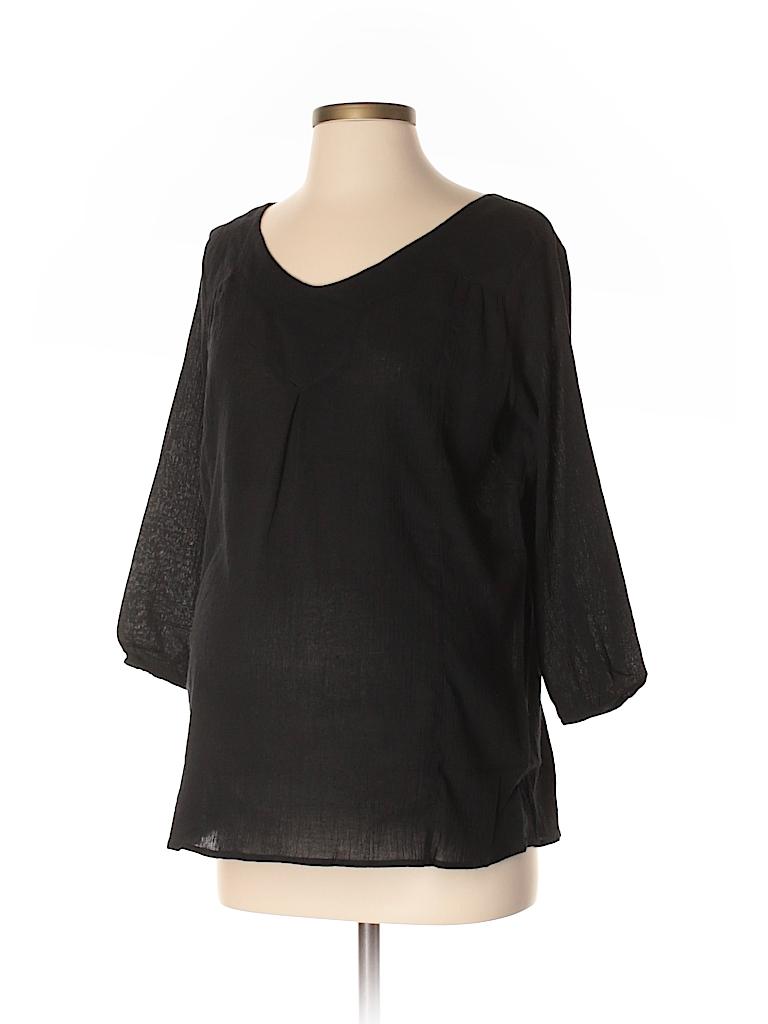 Everly Grey Women 3/4 Sleeve Blouse Size XS (Maternity)