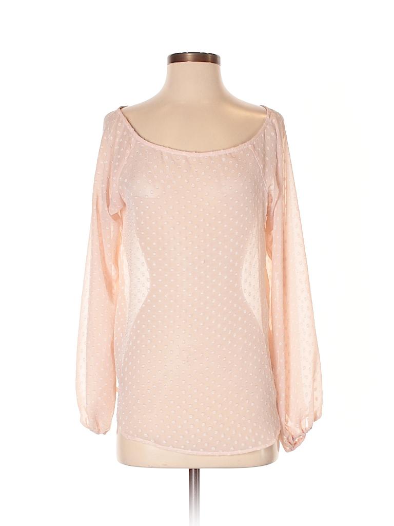 WAYF Women 3/4 Sleeve Blouse Size S
