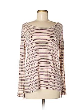 Pink Rose Long Sleeve T-Shirt Size M