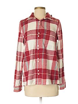 Roxy Long Sleeve Button-Down Shirt Size S (Petite)