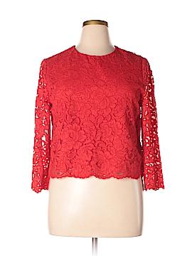 Kate Spade New York Long Sleeve Blouse Size 14