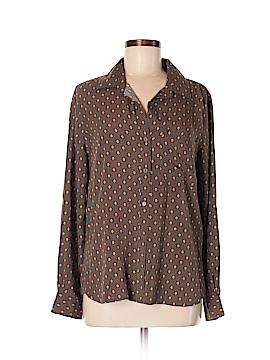 Velvet Heart Long Sleeve Button-Down Shirt Size M