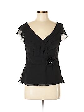 MSK Short Sleeve Blouse Size 8