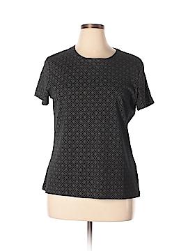 Croft & Barrow Short Sleeve Blouse Size XL