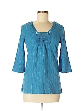 Trina Turk 3/4 Sleeve Blouse Size P