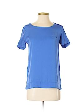 MNG Basics Short Sleeve Blouse Size XS