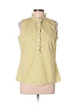 Gap Outlet Sleeveless Button-Down Shirt Size L