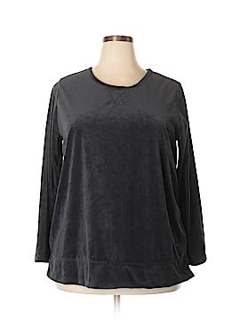 Woman Within Sweatshirt Size 18 (L) (Plus)