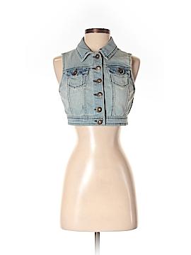 Highway Jeans Denim Vest Size XS