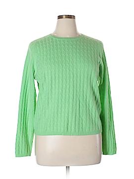 Valerie Stevens Cashmere Pullover Sweater Size XL