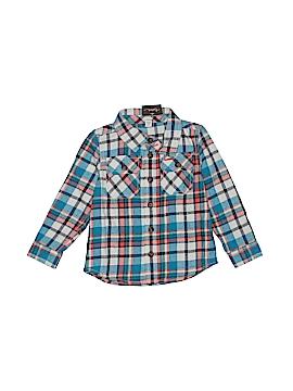 Tea Long Sleeve Button-Down Shirt Size 18-24 mo