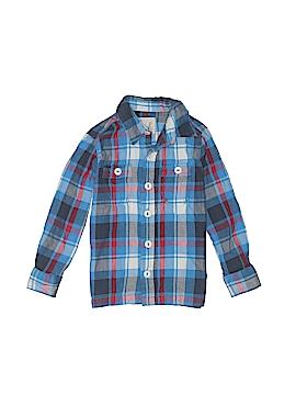 Peek... Long Sleeve Button-Down Shirt Size 2 - 3