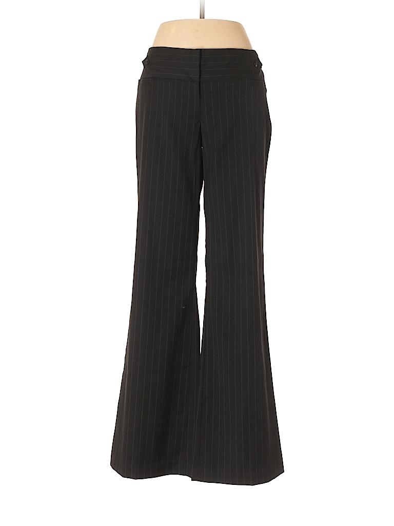 8679074cfb1 Maurices Stripes Black Dress Pants Size 9 - 73% off