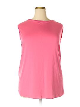 J.jill Sleeveless T-Shirt Size 4X (Plus)