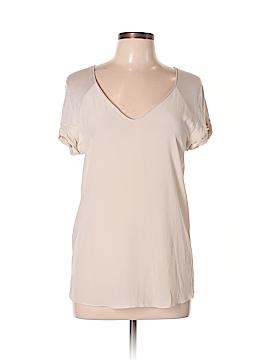 Comptoir des Cotonniers Short Sleeve Blouse Size XL